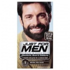 Just For Men Brush In Colour Gel Natural real black M-55