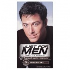 Just For Men Shampoo In Haircolour Natural Real Black H-55